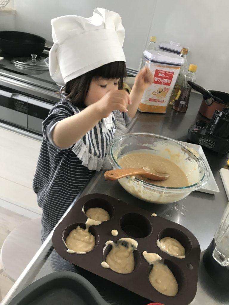 子供との料理