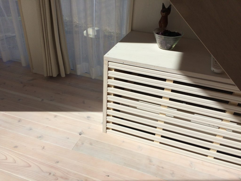 床下エアコン